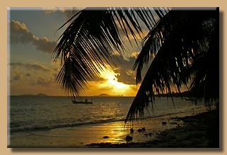 Seychellen Sunset