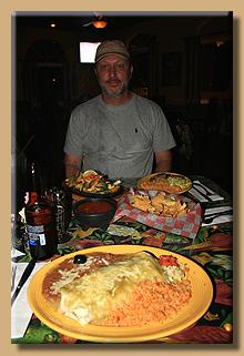 Abendessen beim Mexicaner