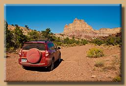 Unterwegs auf dem Reds Canyon Loop