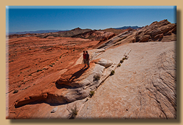 Farbenfrohes Valley of Fire