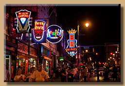 Beale Street at Night