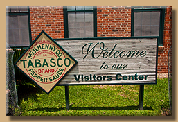 Welcome to the Tabasco Factory
