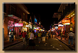 Bourbon Street at Night [3]