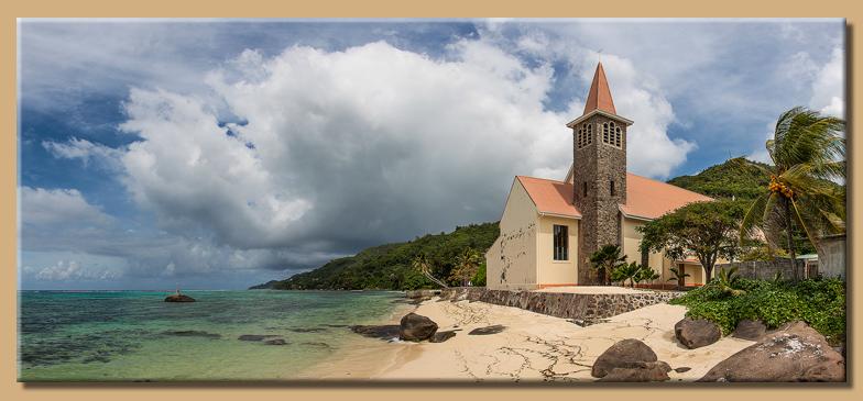 Kirche an der Anse Royal