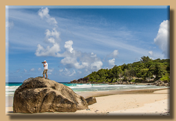 Photoshooting an der Grand Anse