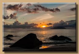 Beau Vallon Sunset
