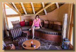 Kalahari Red Dune Lodge - Unser Wohnzimmer