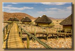 Chalets der Sossus Dune Lodge