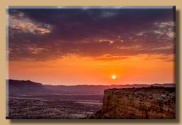 Ugab Terrassen zum Sunset