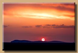 Afrikanische Sonnenuntergänge sind immer etwas Besonderes